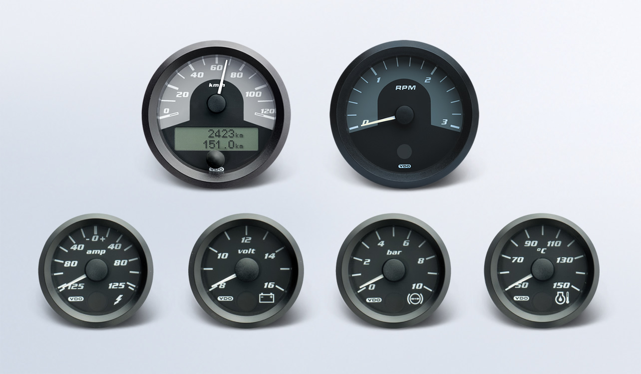 Gauge Image Downloads Vdo Instruments And Accessories