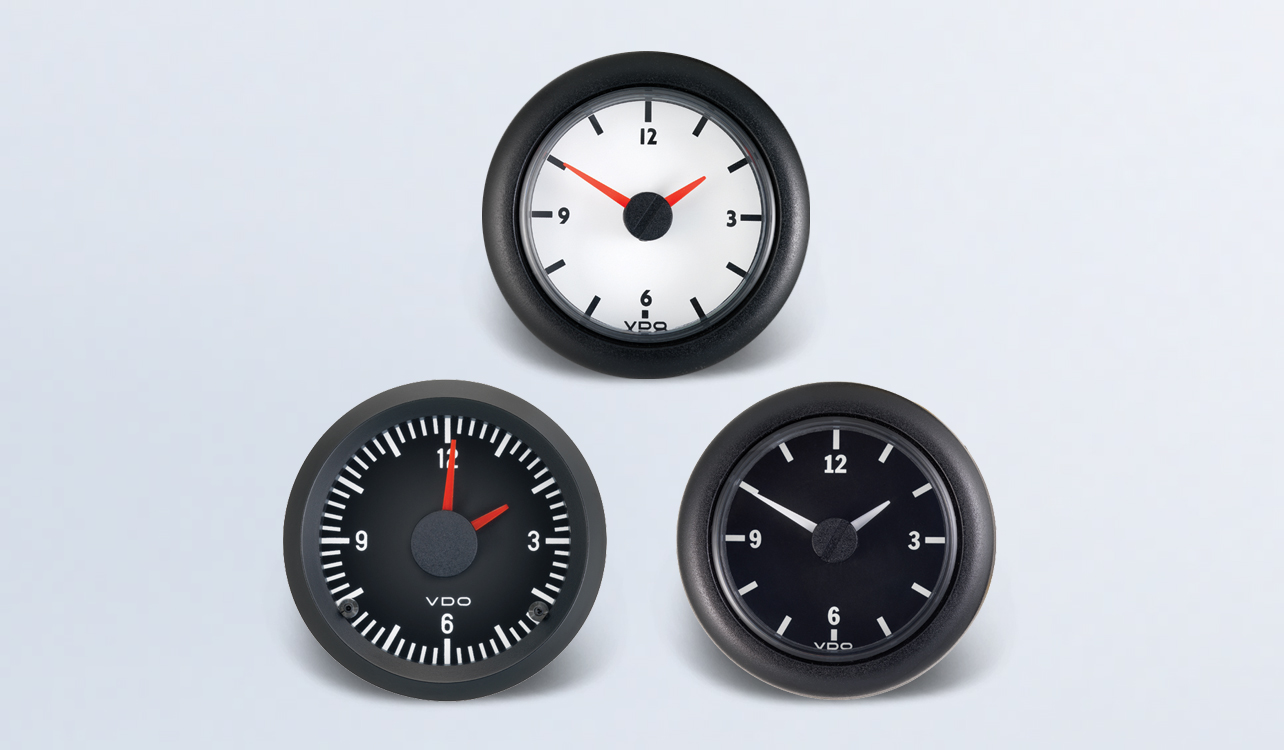 Clock | By Type | Instruments, Displays and Clusters | VDO Instruments and  Accessories