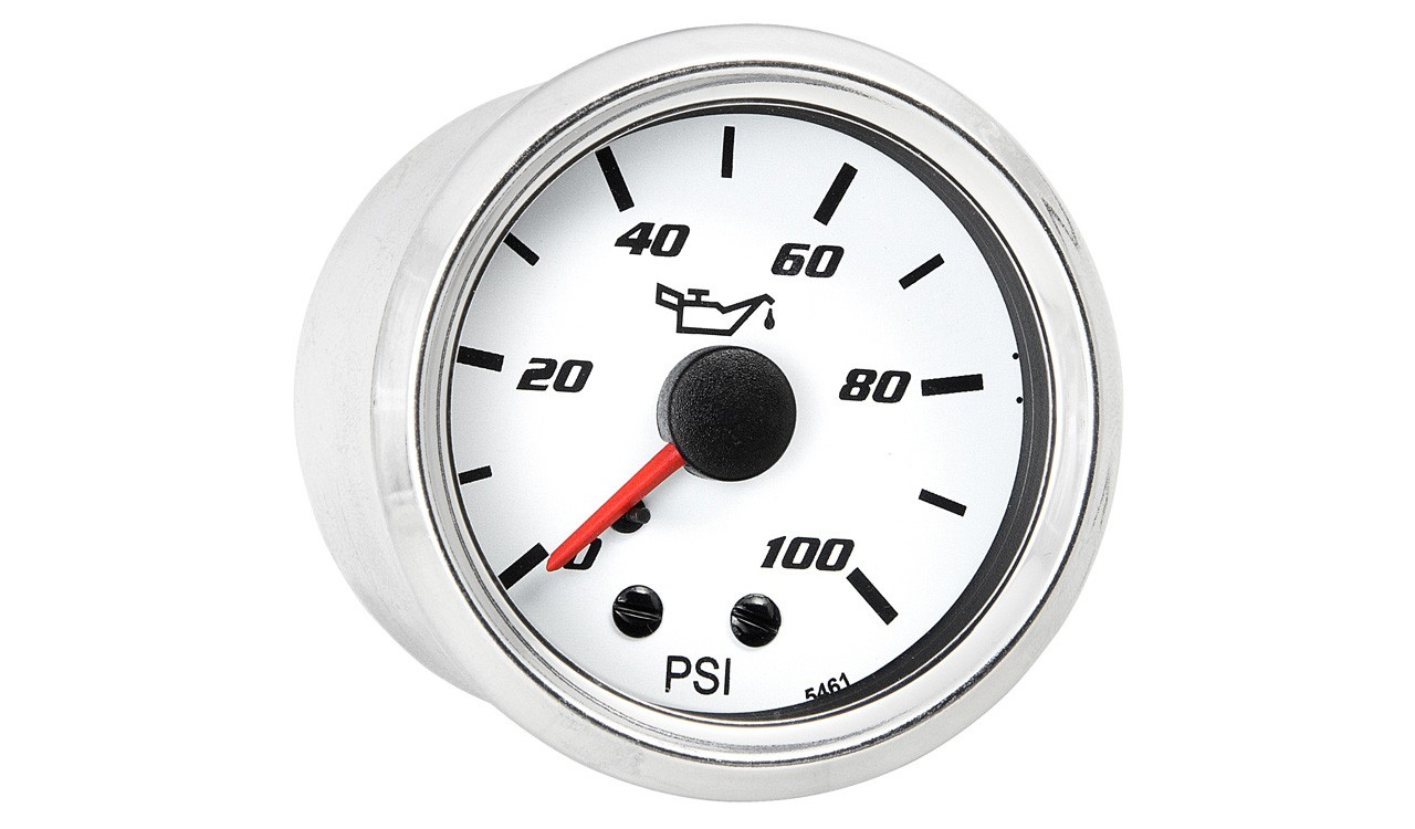 Cockpit Autochoice Mechanical oil pressure gauge