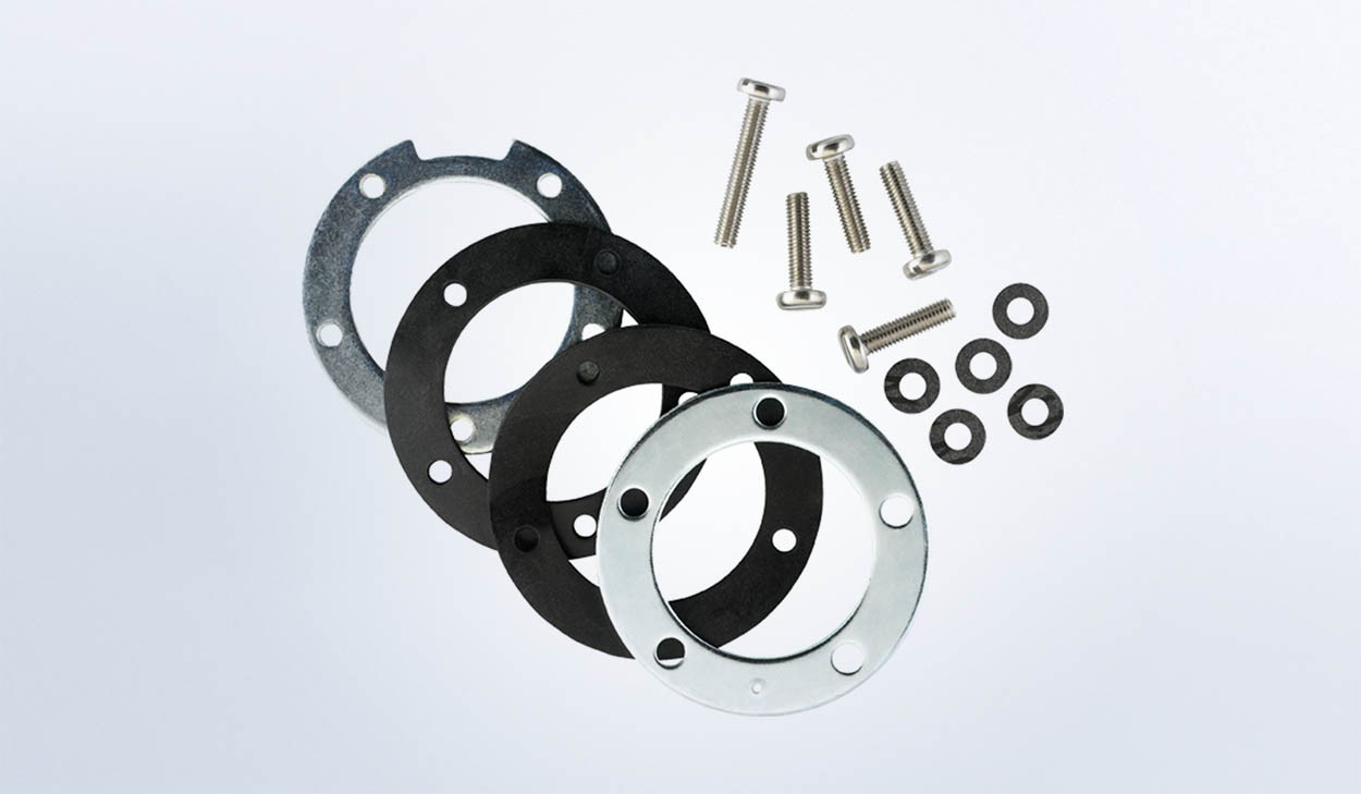 SAE 5 Hole Mounting Flange Kit