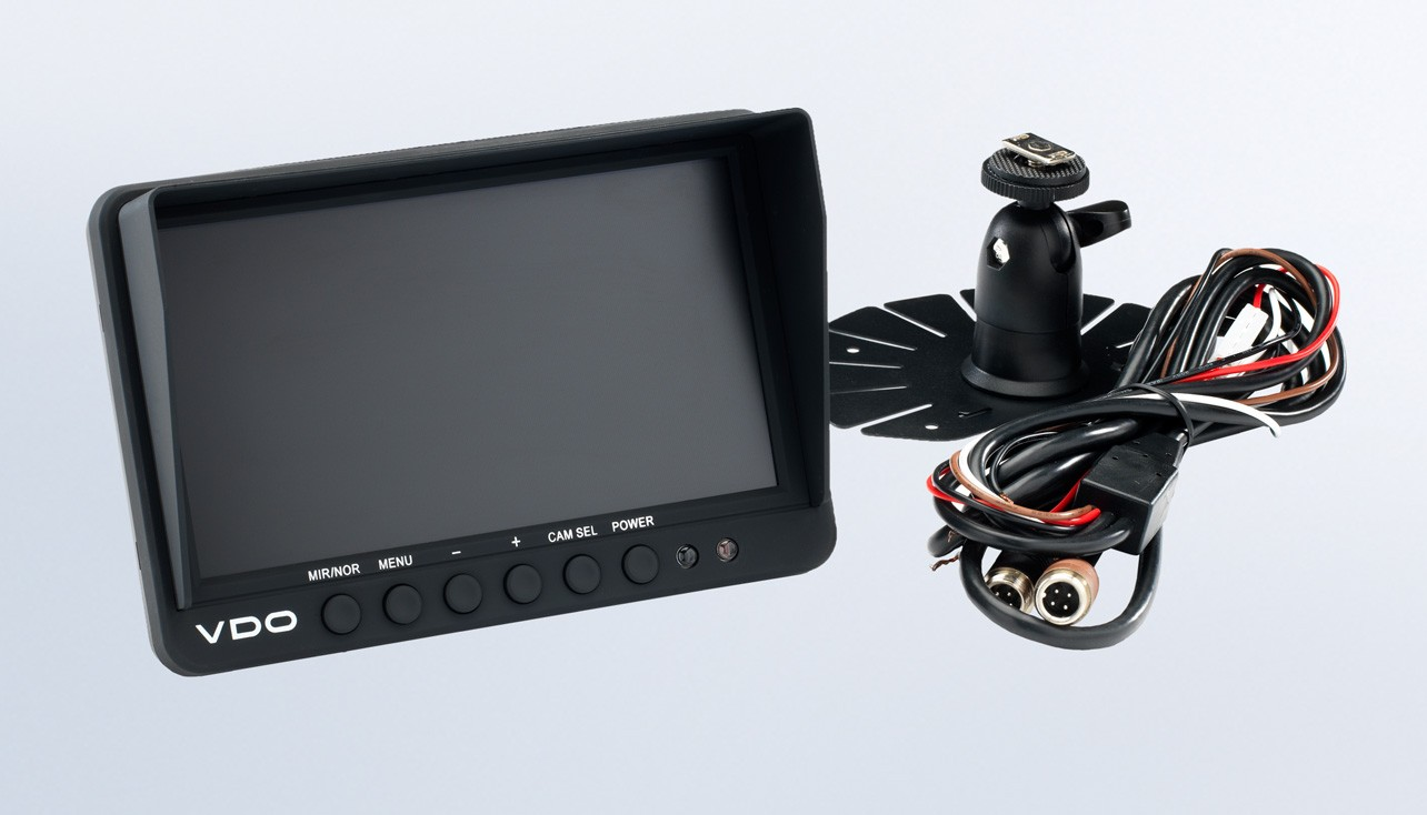 "Standard View Cameras 7"" Dual input Camera Display"