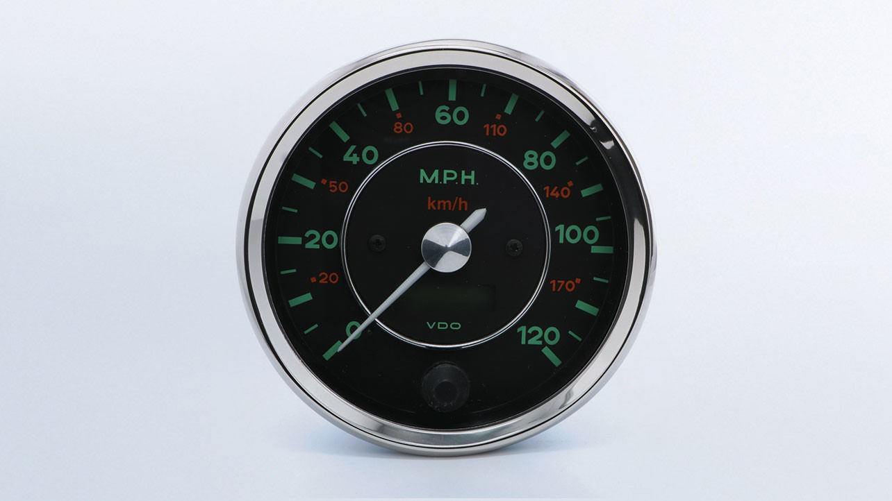 Vdo Amp Gauge Wiring Diagram Library Speedometer Gauges 356 120mph 100mm By Type Instruments Displays And