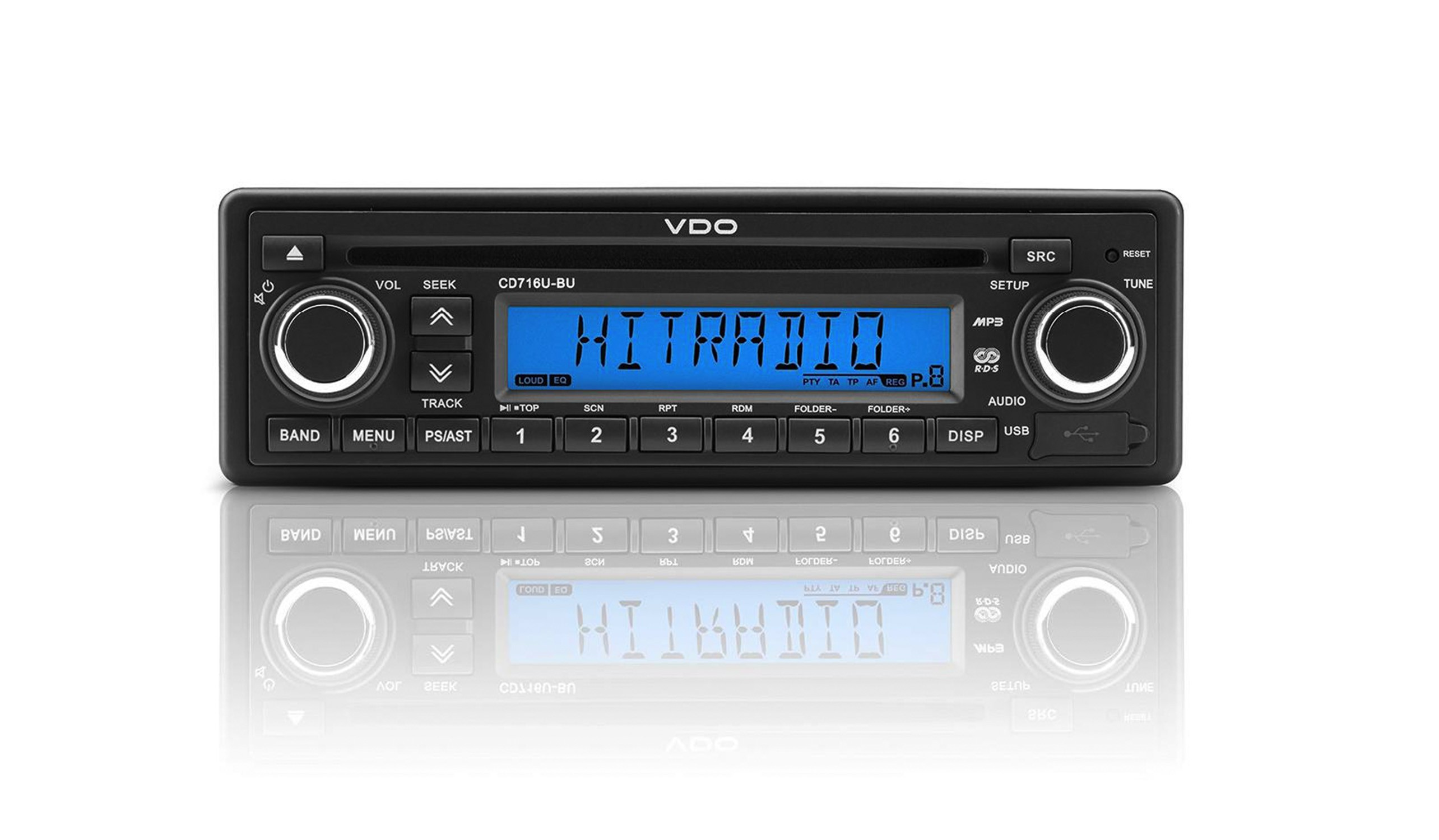 VDO Radio AM/FM Radio with CD and USB/AUX input 12V