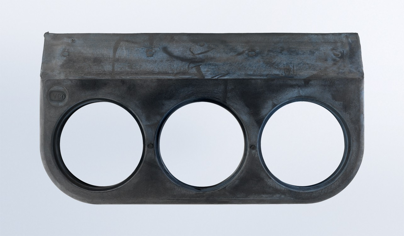 3 Gauge Rubber Mounting Bracket for 2 1/16 Gauges