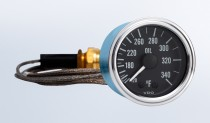 "Series 1 340°F Oil Temperature Gauge with 144"" Capillary"