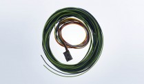 Replacement 8 Pole Harness with Leads for 1 ViewLine Ammeter and Shunt
