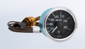 "Series 1 265°F Water Temperature Gauge with 144"" Capillary"