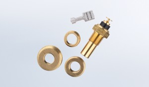 Temperature Sender Kit 250°F/120°C with US Thread Adapters