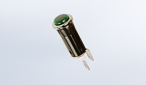 Green LED Warning Light with Socket & Pigtail