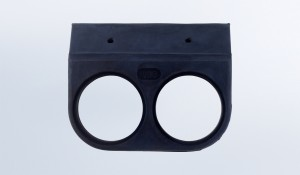 1 Gauge Rubber Mounting Bracket for 2 1/16 Gauges
