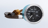 "Series 1 265°F Water Temperature Gauge with 48"" Capillary"