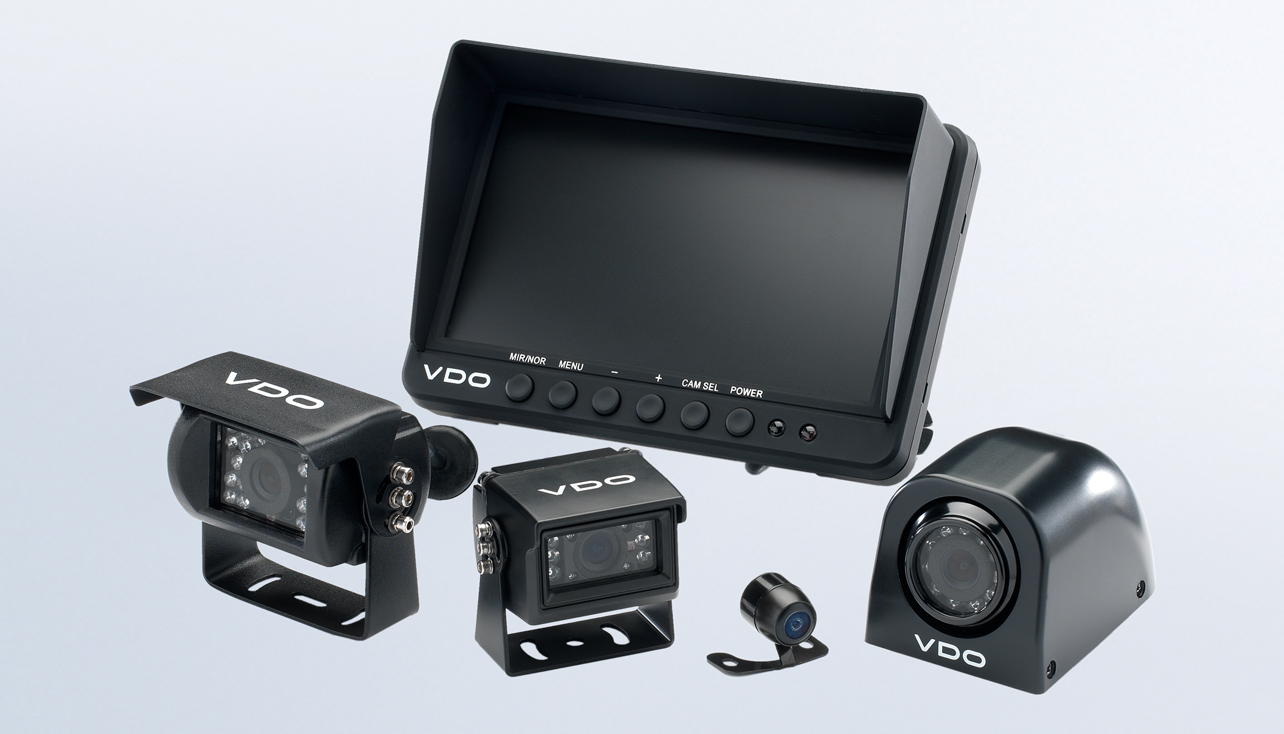 Vdo Camera Kits Instruments And Accessories Cam Wiring Diagram Vehicle Cameras Screens
