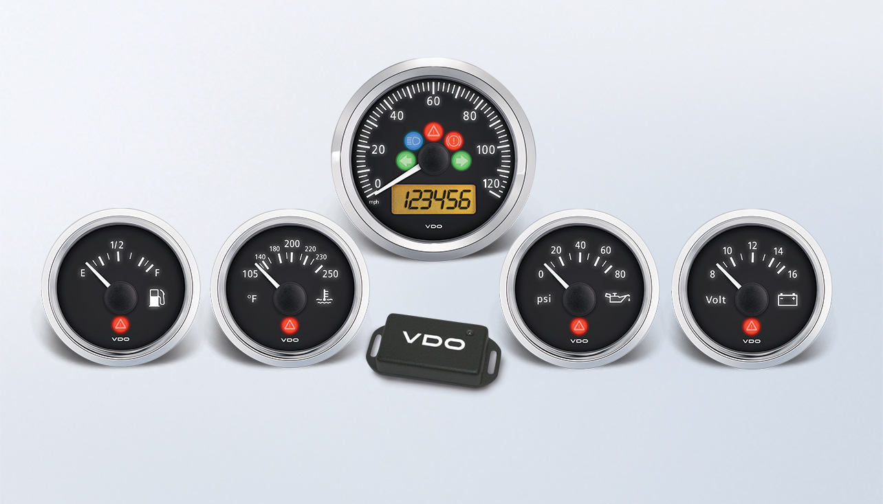 Vdo Vision Tachometer Install Wiring Wire Center Sun Tach Engine Viewline Gps Gauge Kits Instruments And Accessories Rh Gauges Com Vintage